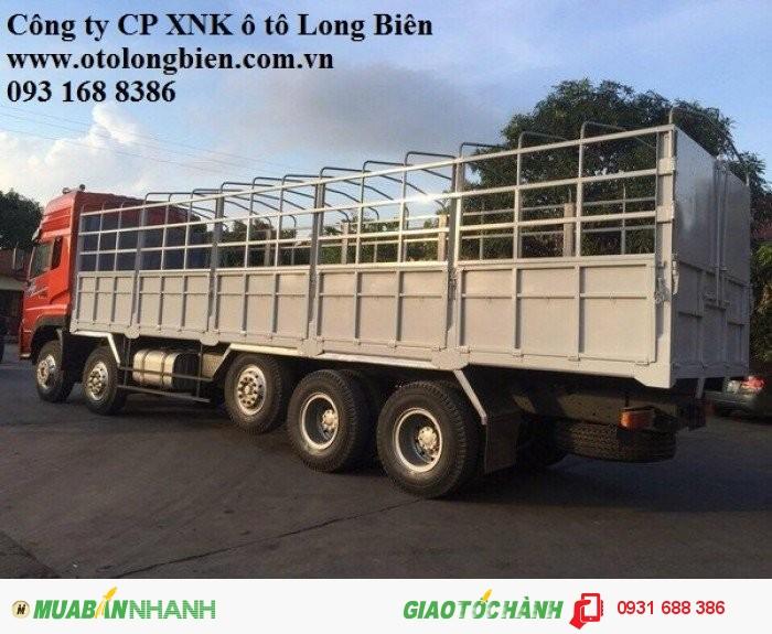 Xe tải thùng 5 chân Dongfeng tải trọng 21-22,5 tấn Long Biên, Hà Nội 2016 1