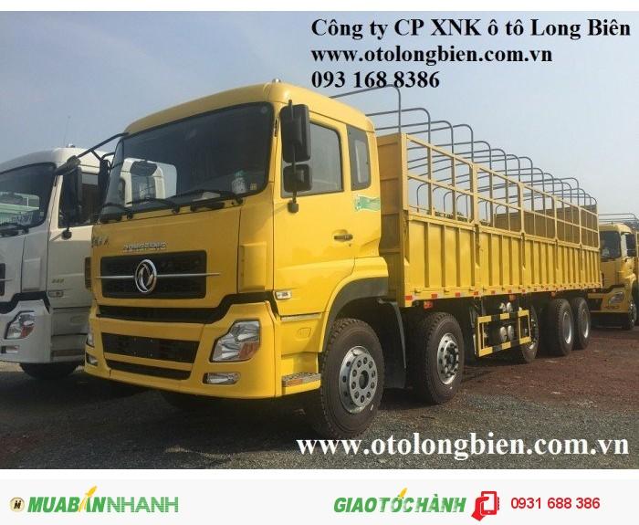 Xe tải thùng 5 chân Dongfeng tải trọng 21-22,5 tấn Long Biên, Hà Nội 2016 2