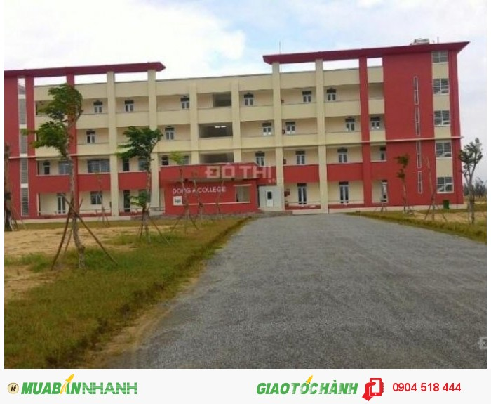 Bán đất nền dự án college town khu đô thị làng đại học Đà Nẵng giá từ 3 triệu