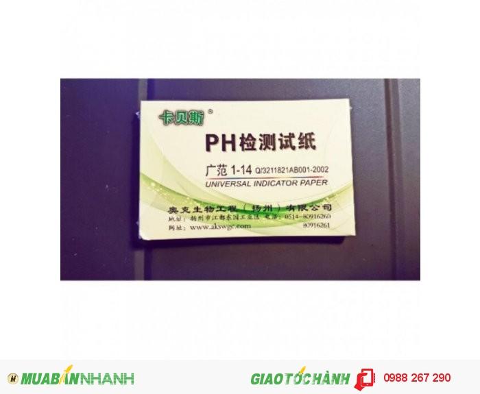 Nơi bán giấy quỳ tím đo dộ pH giá rẻ nhất Hà Nội0