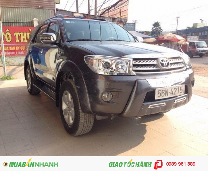 Bán Toyota Fortuner 2.7 4x4 2009 AT, 688 triệu 0