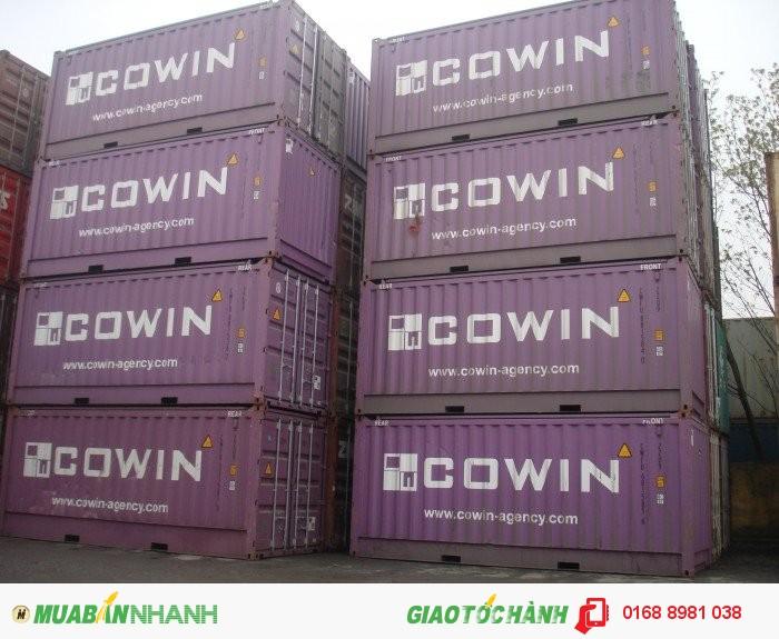 Thuê Container kho các tỉnh phía Bắc