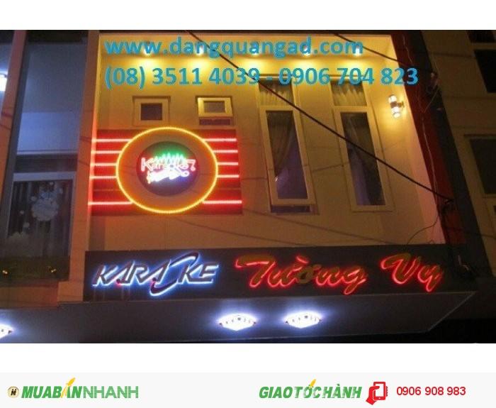 Hình 3 -Thiết kế thi công bảng hiệu quán Karaoke