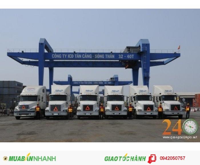 Vận chuyển hàng hóa container TPHCM-Bình Dương, Đồng Nai, các tỉnh miền Tây