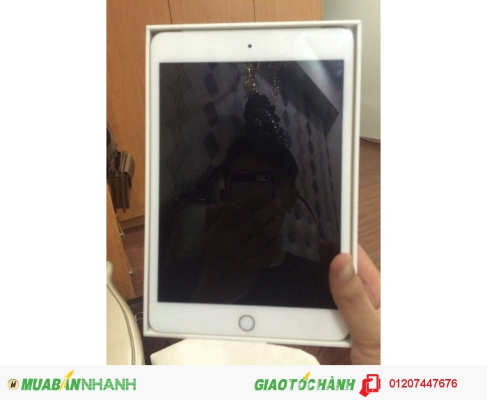 Ipad mini 4 màu gold 3gwifi 64g