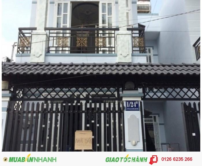 Bán nhà đường Phan Văn Hớn , ngay chợ , khu vực đông dân cư, trường học .
