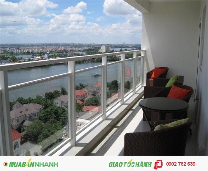 Cần cho thuê CH Hoàng Anh River View,240m2,tầng cao,view đẹp,full nội thất, giá 40 triệu/tháng