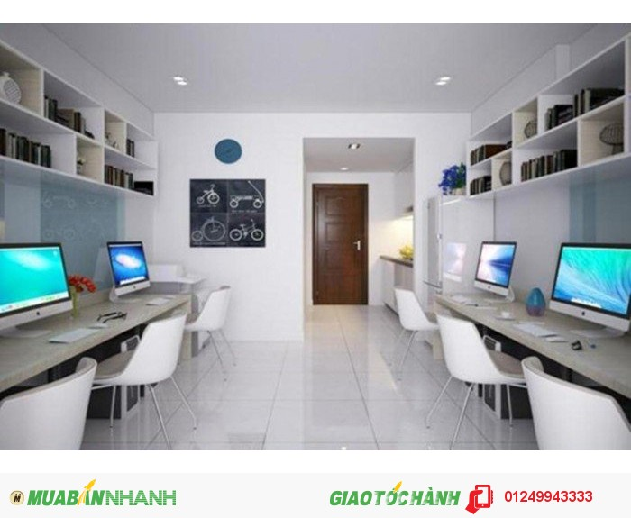 Cho thuê căn hộ làm văn phòng tại chung cư Linh Đàm