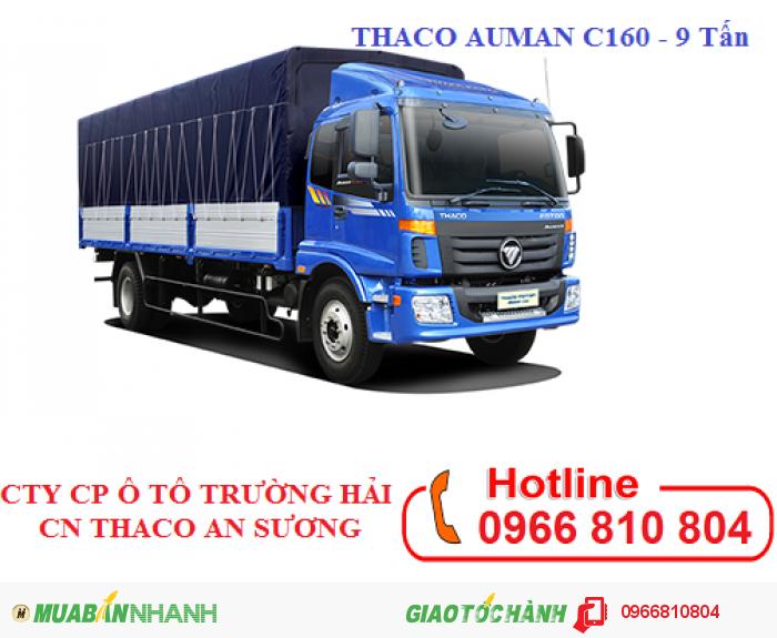 Xe Tải FOTON AUMAN C160 (2 Chân) - 9 Tấn /THACO AUMAN