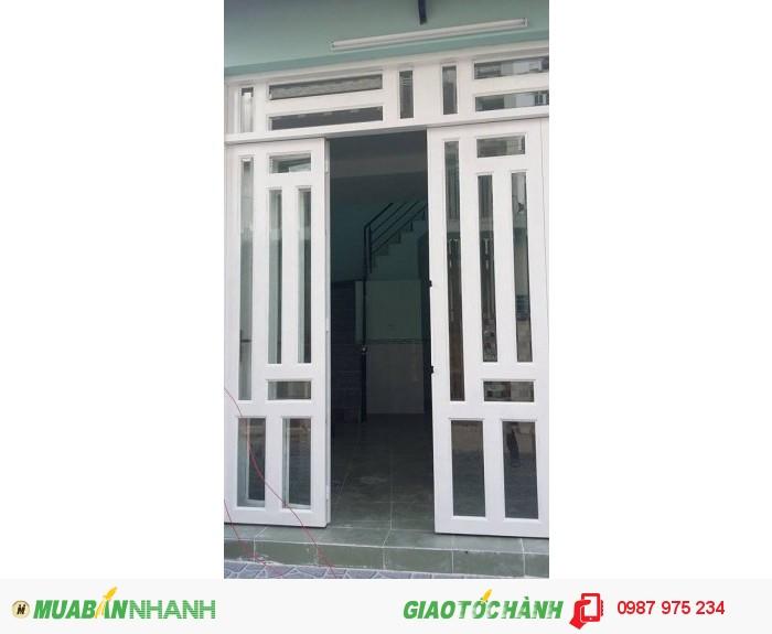 Nguyên căn hẻm 803 Huỳnh Tấn Phát, 4x17, 2 lầu, 4 pn, có nội thất, giá 10 triệu/tháng