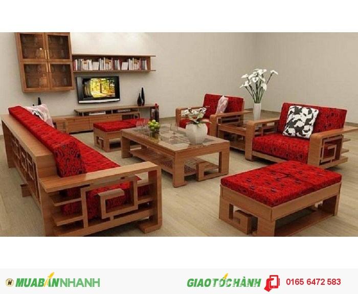 Sofa Gỗ Phong Khach Hiện đại Bền đẹp Theo Thời Gian Mới 100 Gia