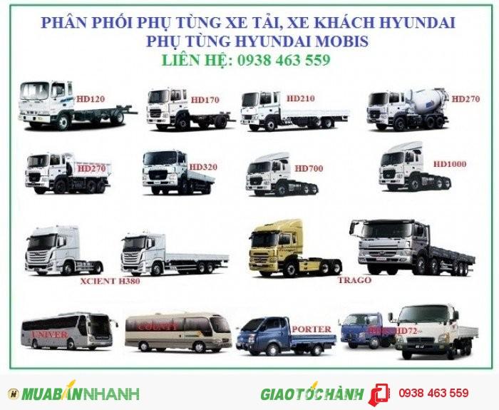 Phụ tùng xe ôtô tải, phụ tùng ô tô khách hyundai, phụ tùng hyundai mobis. 0