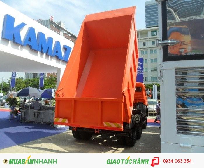 Bán xe tải ben Kamaz 65115 -15 tấn, Đại lý bán xe tải Kamaz trả góp hỗ trợ 80% Giao Xe Toàn Quốc