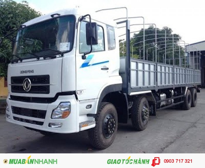 Địa chỉ bán xe tải DongFeng 4 chân siêu tải trọng 19t1 giá hợp lý. Mua xe tải DongFeng 4 chân 19t1