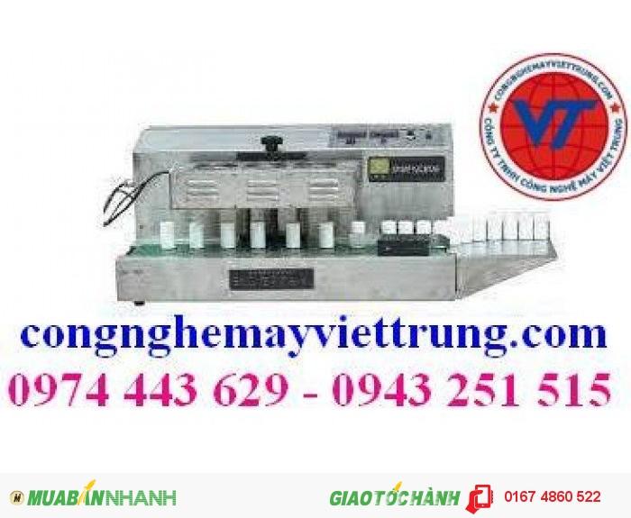 Máy dán màng seal tự động, máy dán màng seal liên tục.0