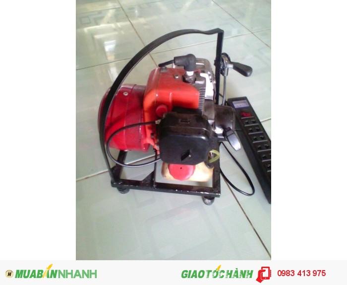 Máy phát điện mini Trung Tiến 2T mẫu mới, chất lượng mới0