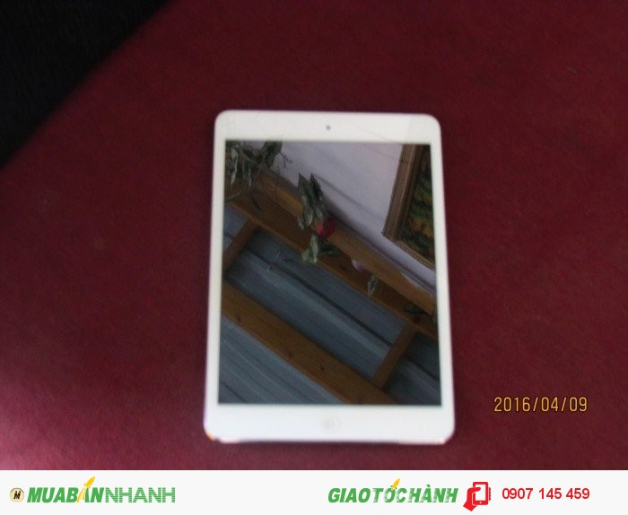 Ipad mini 16gb, khe sim 3GB