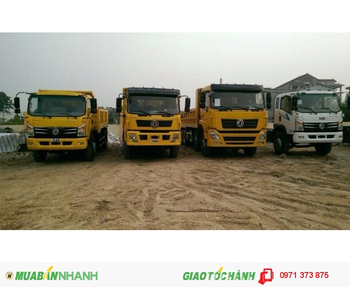 Xe tải Dongfeng Việt Trung 2 chân, 3 chân, 4 chân