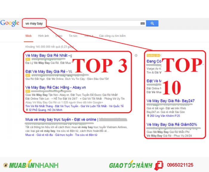 Quảng cáo google AD đảm bảo cho các doanh nghiệp