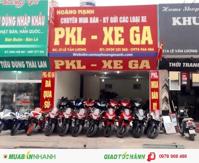 Showrom xe máy Hoàng Mạnh - Chuyên mua bán, ký gửi xe Phân Khối Lớn chạy lướt.