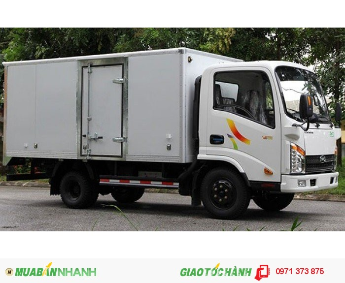 Xe tải veam VT350 thùng kín
