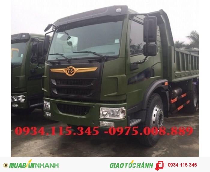 Giá xe ben Dongfeng Truong Giang 8.5 tấn( 1 cầu) Ben Truong Giang 8 tấn 5 trả góp giá tốt. 0