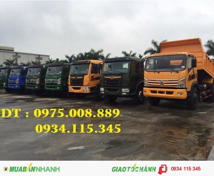 Giá xe ben Dongfeng Truong Giang 8.5 tấn( 1 cầu) Ben Truong Giang 8 tấn 5 trả góp giá tốt. 2