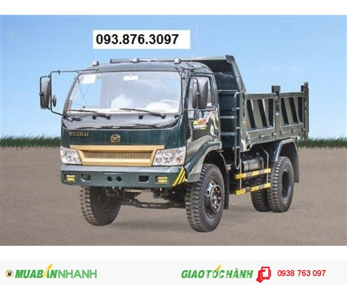 Đại lý chuyên mua bán xe ben Hoa Mai 3.2t/3,2t/3.2 tấn/3,2 tấn/3t2/2 cầu giá thấp nhất 2