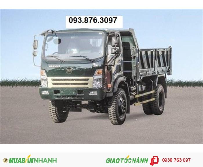 Đại lý chuyên mua bán xe ben Hoa Mai 3.2t/3,2t/3.2 tấn/3,2 tấn/3t2/2 cầu giá thấp nhất 3