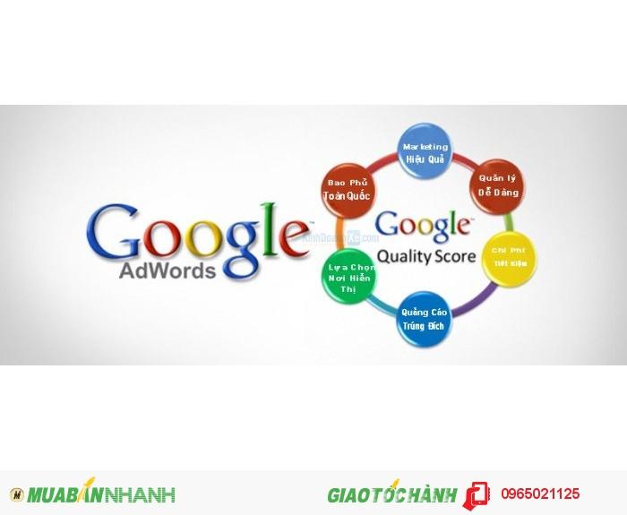 Quảng cáo google AD uy tín, đảm bảo, chất lượng