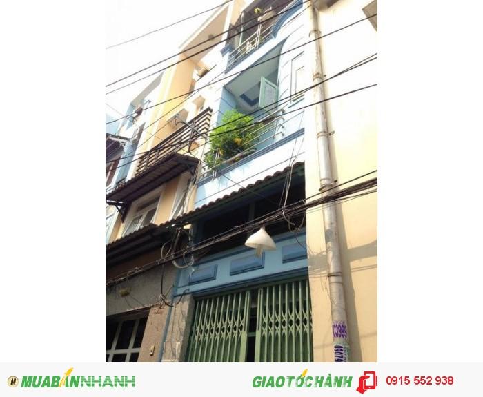 Bán nhà Q1-hẻm 4m Trần Hưng Đạo nhà 3 lầu GIÁ 2.95 tỷ/TL