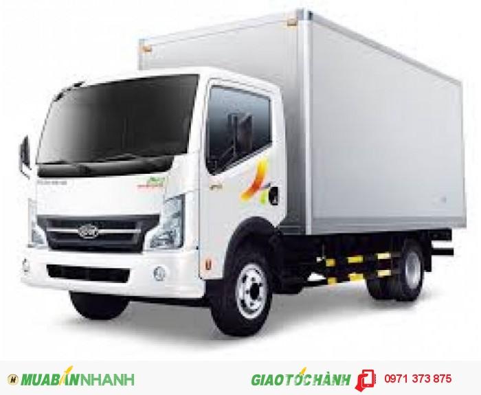 Bán xe tải veam VT252 thùng kín giá tốt, hỗ trợ mua xe trả góp, vay vốn ngân hàng lãi suất thấp.