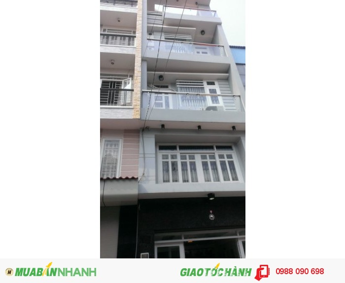 Bán nhà hẽm 7m Phan Đăng Lưu,Phường 3,Phú Nhuận.Diện tích 4,2x10,3m