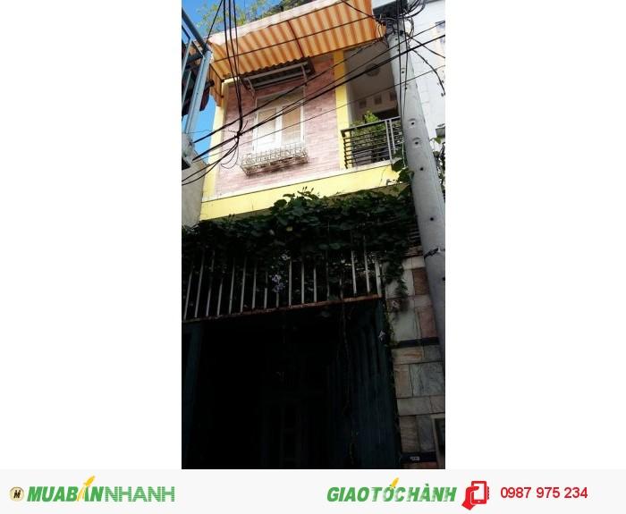 Nguyên căn đường Huỳnh Tấn Phát, 4x12, 1 lầu, 7 triệu/tháng