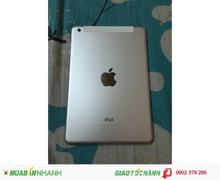 Cần bán iPad mini 2 wifi + 4g màu trắng 16gb máy đẹp 98%