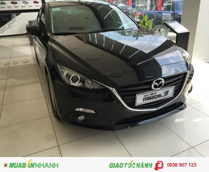 MAZDA GÒ VẤP - Mazda 3 Sedan 1.5L. Ưu đãi giảm giá. Giao xe ngay.Cửa sổ trời.