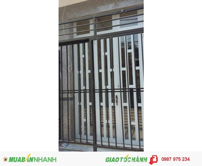 Nguyên căn mới xây đường Huỳnh Tấn Phát, 4x10, 3 lầu, giá 12 triệu/tháng
