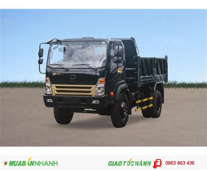 Dòng xe tải ben Hoa Mai với giá rẻ và chất lượng vượt trội. 0