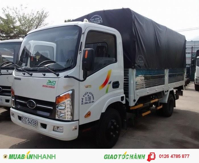 Xe tải veam 2.4T thùng dài 4m1, xe tải veam vt252-1 thùng dài 4m1 sản phẩm mới giá rẻ.