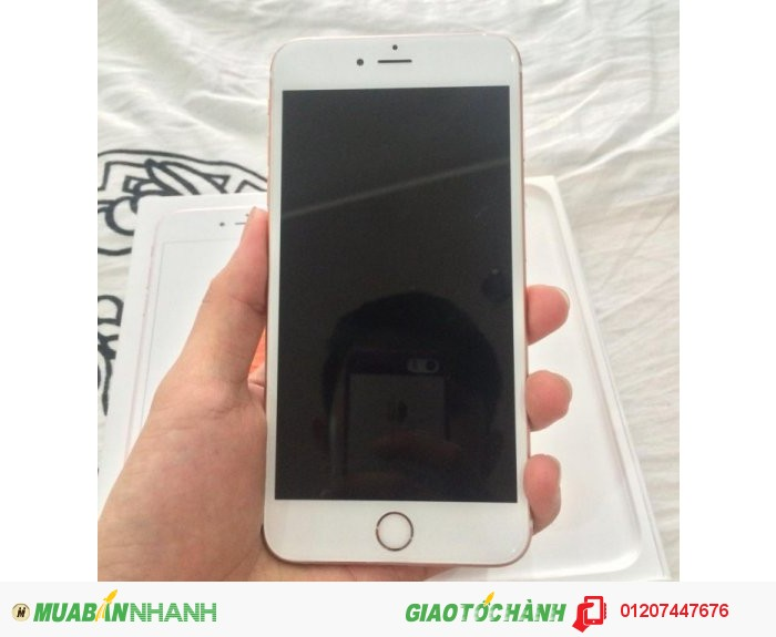Iphone 6s plus 64g rose gold quốc tế