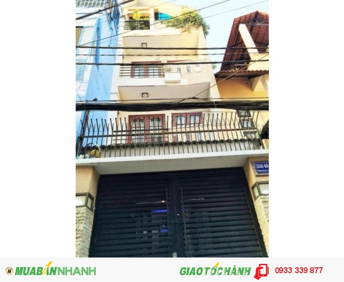 Bán nhà hẻm xe hơi Phạm Văn Hai, p.5, Tân BInh, giá 5 tỷ