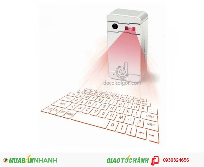 Bàn phím laser bluetooth Projection Keyboard
