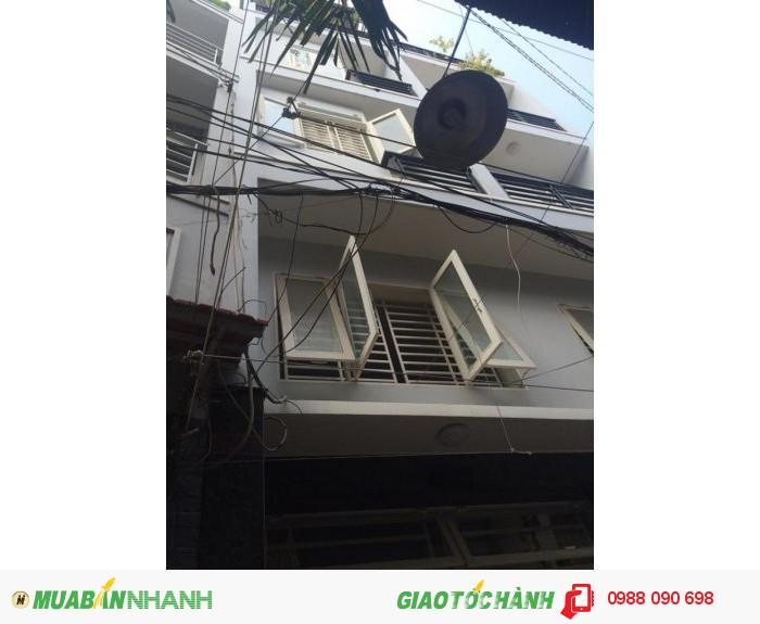 Bán nhà hẻm Lê Văn Sỹ phường 13 Quận Phú Nhuận. DT 3,1x 9,8