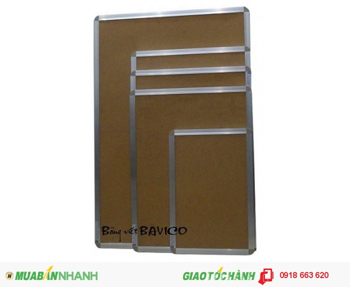 Bảng ghim bần (1,2 x2,4 m)2