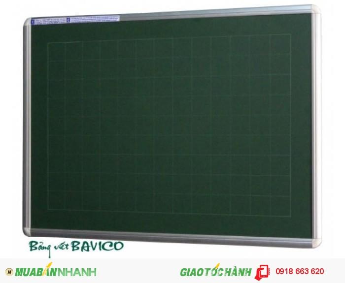 Bảng xanh viết phấn (80x 120 cm)1