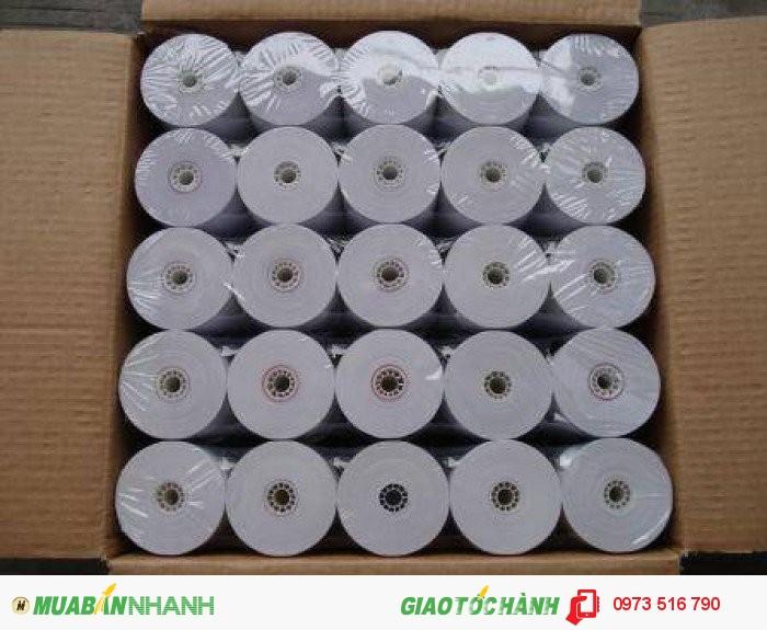 Giấy in nhiệt K57 K80 giá rẻ cho nhà hàng quán caffe tại Bắc Giang2