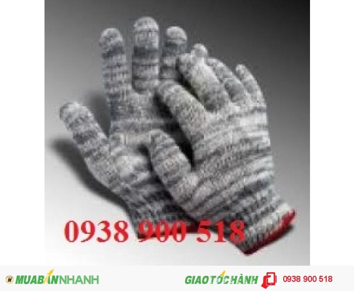 Găng tay sợi len xám đen 60g - công ty TNHH BHLĐ Vina
