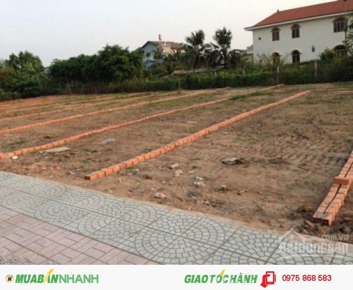 Bán đất thổ cư sổ hồng riêng Hóc Môn, Chỉ 193tr/nền, gần trường mẫu giáo