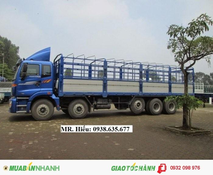 Bán xe tải Thaco Auman 3,4 5 chân,mới 100%,tại trọng 9 đến 20,5 tấn