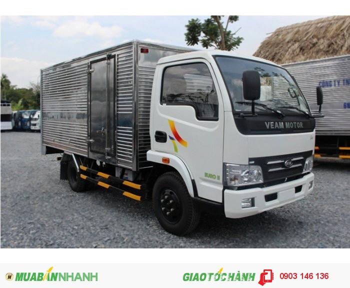 Bán xe hyundai 2.4 tấn, giá 380tr thùng dài 3m8